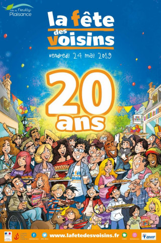 La Fête des Voisins fête ses 20 ans