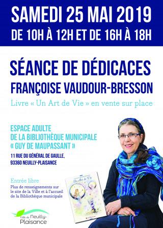 Françoise Vaudour-Bresson : une artiste éclectique