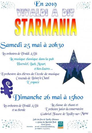 "Concert Vivaldi a dit ""Starmania"""