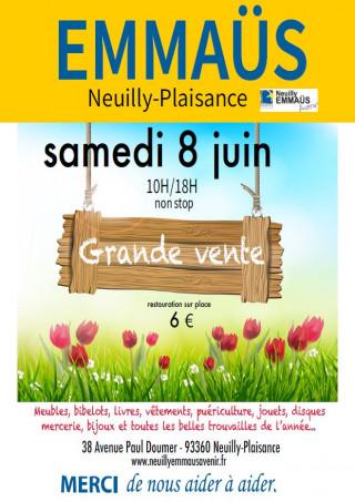 Grande Vente Emmaus Ville De Neuilly Plaisance