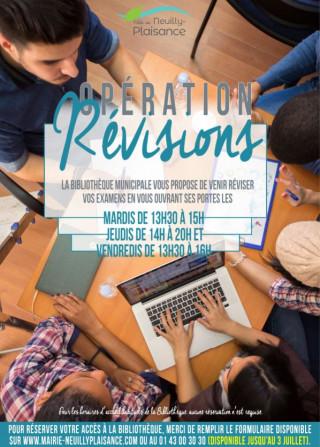 Lycéens et étudiants venez réviser à la bibliothèque!